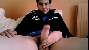 Cute Webcam Boy With A Nice Cock