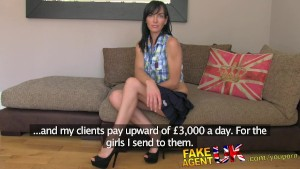 FakeAgentUK Dirty talking MILF