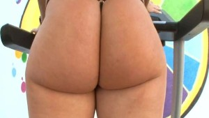 PAWG gets her asshole strteched out by a giant cock!