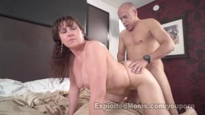 Busty MILF has Pierced Tits