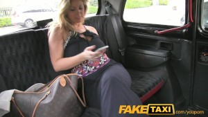 FakeTaxi Dirty blonde with huge tits loves the cock