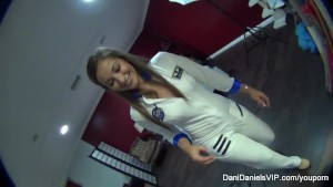 Dani Daniels BTS
