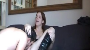 Dude fingering her pussy and t