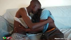 Cute Black African Twinks on Sucking