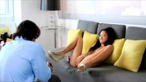 Casting Couch-X - Shamed Asian teen fucks for cash