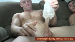 Straight Marine Buddies Nick & Brennan