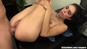 Horny Office Slut Takes a Fuck Break at Work