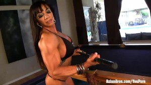 Aziani Iron female bodybuilder