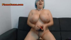 Punk BBW Has Fun With Her Mach