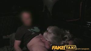 FakeTaxi Mature milf in backseat midnight fun
