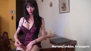 Mariana Cordoba masturbation on the table
