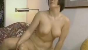 Busty amateur girlfriend anal