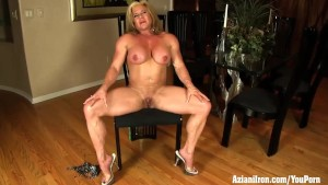 Buff Mature female bodybuilder