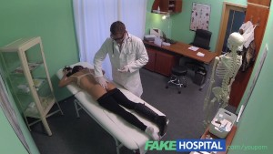 FakeHospital Young woman with killer body caught on camera getting fucked by doctor