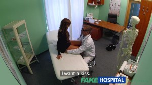 FakeHospital Spy cameras in doctors office captures teens milfs creampies