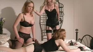 Babes, Lingerie And Spanking