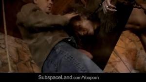 Yoke-bondaged slave trained for submission