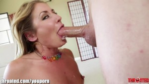 THROATED HARD DT!!! Sheena Shaw s face is fucked!