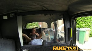 FakeTaxi Spycam means customer has to go all the way