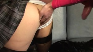 French schoolgirl is nastier t