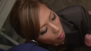 Asian-Slut Sucks the Cum Out - Dreamroom Productions