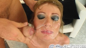 Cum For Cover Teen girls face