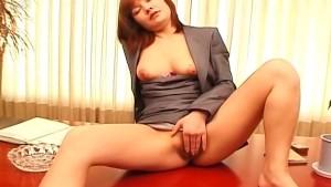 Japanese office babe Anna Yumi