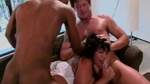 Asian gets dp d in threesome - Shock Wave