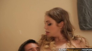 HDVPass Horny Teen Jessie Andrews Sucks and Rides Cock