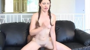 Teen brunette riding bbc - HardLine