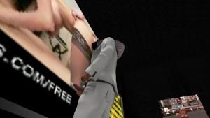 Fred Adjani qui se branle au cinéma de RPS