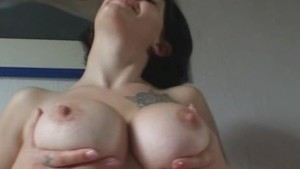 Amateur girlfriend with big ti