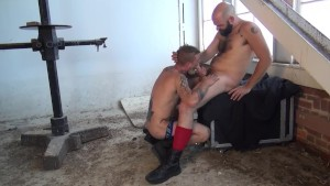 Tattooed bearded boys - Factory Video