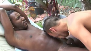 Interracial fucking outside - Factory Video