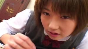 Schoolgirl slut Shinobu Kasagi