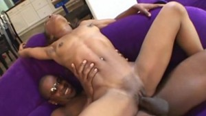 Ebony Beauty with small tits gets fucked rough and hard!
