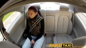 FakeTaxi Teen student with sma