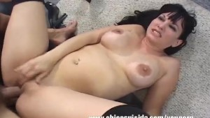 Busty MILF Carrie Using Blowjob Skills For A Promotion