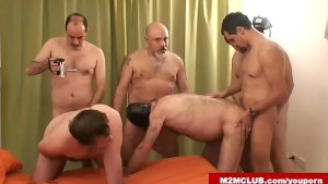 Hot hairy orgy