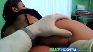FakeHospital Perfect busty slim patient loves the doctors cock cure for heartburn