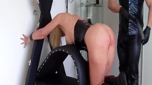 squirting fisting orgasm for busty bondage babe only at pornmike.com