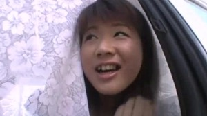 Innocent looking Japanese babe