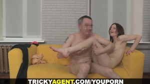 Tricky Agent - She s got everything for porn