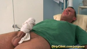 horny babe helps the doctor