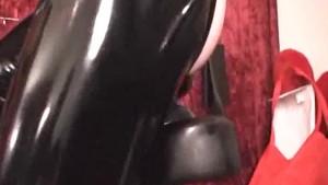 XXL butt plug bicycle seat ride