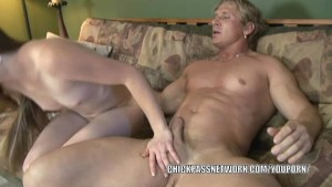 Teen redhead Laveah is getting her pussy dicked hard