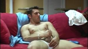 Muscular Straight Guy Vani Masturbating