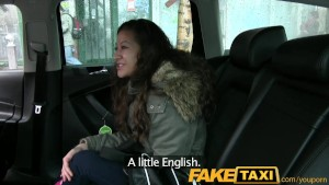 FakeTaxi Czech girl can t afford taxi so pays with her pussy
