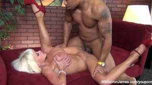 Nikita gets some interracial l