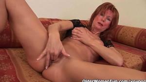 Redheaded grannies in lust fuc
